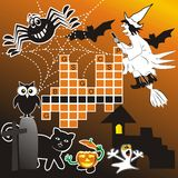 Puzzle - Halloween Royalty Free Stock Photos