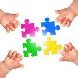 Puzzle. Stock Image