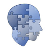 Puzzle of human mind Royalty Free Stock Image
