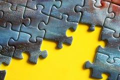 Puzzle i del puzzle Fotografia Stock