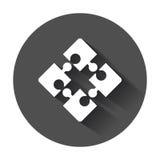 Puzzle icon Stock Photo