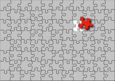 Puzzle illustration Royalty Free Stock Photo