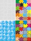 Puzzle illustration Royalty Free Stock Photos