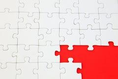 Puzzle inachevé images libres de droits