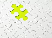 Puzzle inachevé image libre de droits