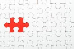Puzzle incompleto con il pezzo mancante immagine stock libera da diritti