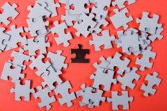 Puzzle. individuality Stock Image