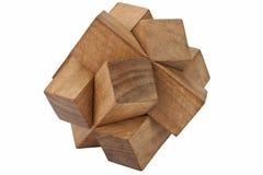 Puzzle - isolato Fotografia Stock