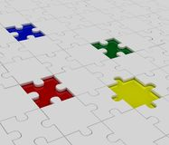Puzzle, jigsaw Stock Photography