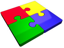 puzzle jigsaw Stock Photos