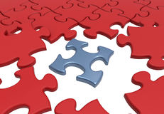 Puzzle jigsaw connectivity concept Stock Photography