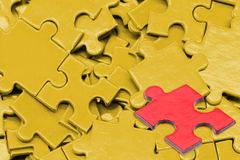 Puzzle and jigsaw Stock Image