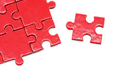 Puzzle and jigsaw Stock Images