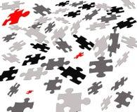 puzzle latać Obraz Stock