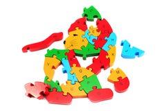 Puzzle le lion Images stock