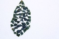 Puzzle leaf Royalty Free Stock Images