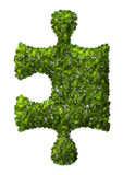 Puzzle Leaf texture. Royalty Free Stock Images