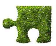 Puzzle Leaf texture. Stock Photo