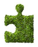 Puzzle Leaf texture. Stock Image
