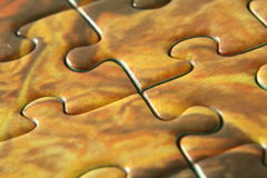Puzzle lines Stock Image