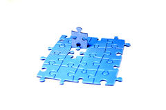 Puzzle-man Stock Images