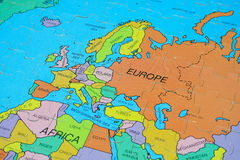 Puzzle Map (Europe) Royalty Free Stock Images