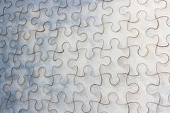 Puzzle metal Royalty Free Stock Photo