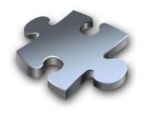 Puzzle metallico Fotografia Stock Libera da Diritti