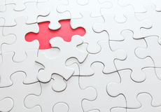 Puzzle missing Royalty Free Stock Images
