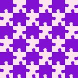 Puzzle mixed purple colors Royalty Free Stock Photography