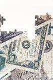 Puzzle of money Stock Photos
