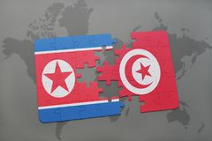 Flag Of Tunisia North Africa Stock Photo Image Of