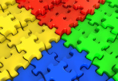 Puzzle Nexus Royalty Free Stock Image