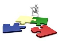 Puzzle non finito Fotografia Stock
