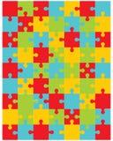 Puzzle, parti separate Immagine Stock Libera da Diritti