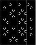 Puzzle, parti separate Fotografie Stock Libere da Diritti