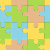 Puzzle patern Royalty Free Stock Photo
