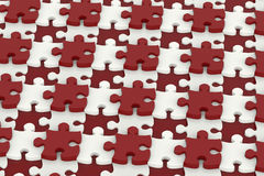 Puzzle pattern background Royalty Free Stock Image