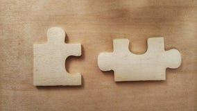 Puzzle perso fotografia stock