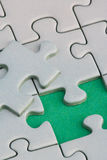 Puzzle piece big Royalty Free Stock Images