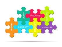 Puzzle Piece Business Concepts Stock Images