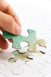 Puzzle piece concept Stock Photography