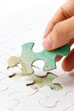 puzzle piece concept Royalty Free Stock Photo
