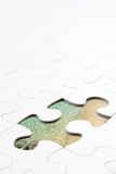 Puzzle piece concept Royalty Free Stock Image
