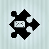 puzzle piece design Royalty Free Stock Photos