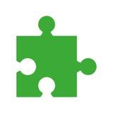Puzzle piece isolated icon. Illustration design Royalty Free Stock Image