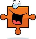 Puzzle Piece Smiling Stock Photos