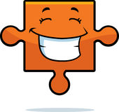 Puzzle Piece Smiling royalty free illustration