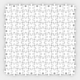 Puzzle Piece White Background Finished Completed Game Royalty Free Stock Photo