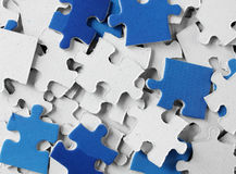Puzzle pieces Royalty Free Stock Image